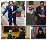 المرأة المصرية 2019| من الحاجة زينب إلى فتاة العربة.. حكاية 4 سيدات كرمهن السيسي