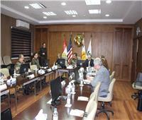 كلية طب القوات المسلحة تستضيف وفد من جامعة ولاية ميتشجن الأمريكية