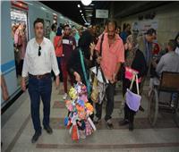 خاص| مترو الأنفاق: حملات مستمرة لإنهاء ظاهرة الباعة الجائلين بالقطارات والمحطات