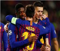 فيديو| ميسي يبدع ويقود برشلونة لعبور ليون إلى ربع نهائي الأبطال