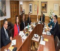غادة والي تستقبل المدير الإقليمي للبنك الدولي في مصر