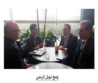 وزير البترول يبحث زيادة استثمارات شركة نوبل انرجري بمصر