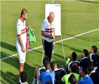 جروس يطالب لاعبي الزمالك بتنفيذ التعليمات أمام «حسين داي»