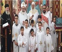 الأنبا بولا يزور الكنيسة الأرثوذكسية ببرايتون