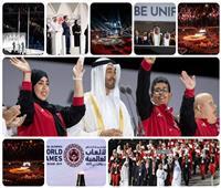 صور.. استقبال حافل لبعثة مصر بالألعاب العالمية للأولمبياد الخاص