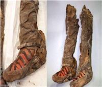 العثور على مومياء عمرها 1500 عام ترتدي حذاء