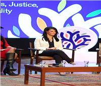 رانيا المشاط تشارك في فعاليات منتدى الإبداع الاجتماعي في العالم العربي