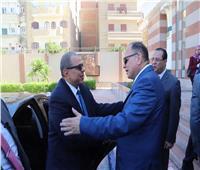 محافظ الفيوم يستقبل وزير القوى العاملة لافتتاح ملتقى التوظيف