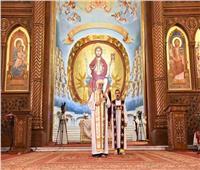 البابا يرأس القداس الإلهي في الذكري السابعة لوفاة «البابا شنودة»