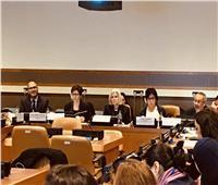 وفد مصري يشارك في جلسة الحماية الاجتماعية لتمكين المرأة العربية