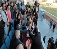 محافظ البحيرة يشهد نهائي بطولة مراكز الشباب لكرة القدم