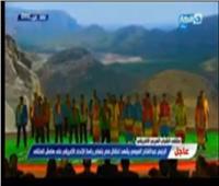 السيسي يشهد عرض «باليه فرعوني» خلال منتدى الشباب العربي الأفريقي