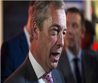 السياسي البريطاني فاراج يقود مسيرة ضد «خيانة» الخروج من الاتحاد الأوروبي
