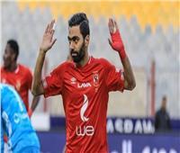 حسين الشحات يسجل الهدف الثالث للأهلي في شباك الساورة
