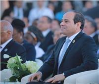 السيسي يمازح رامي رضوان: «مش هاتسيبني اتكلم»