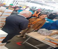 سحر نصر تتفقد مشروع إنشاء 118 مصنعا لدعم مشروعات الشباب