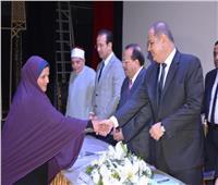 محافظ الغربية يسلم قروضا لـ40 سيدة معيلة في احتفالية «أصل الحكاية»