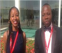 كريم شاد وآشلي من زيمبابوي: ملتقي «أفريقيا العرب» فرصة لتبادل الأفكار والثقافات