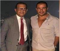 صور| نجاة محامي عمرو دياب من حادث مروع