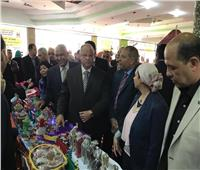 محافظ القاهرة يفتتح معرض السلام للأسرة المنتجة