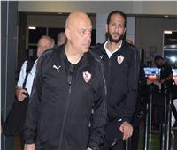 بعثة الزمالك تغادر مطار الجزائر متجهة إلى القاهرة