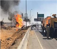 البترول: السيطرة على حريق خط غاز القطامية