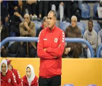 حمدي الصافي: نسعى للفوز بجميع مباريات البطولة الإفريقية للكرة الطائرة