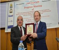 جامعة أسيوط توقع بروتوكول تعاون مع جامعة ستيبان جزهايتسكي