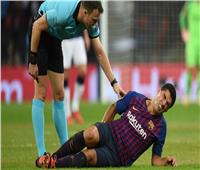 برشلونة يكشف تفاصيل إصابة «سواريز»