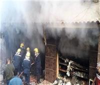 إخماد حريق بمحل تجارى في روض الفرج دون وقوع إصابات