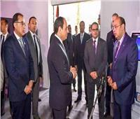 «CIB» يستعرض إنجازاته في التكنولوجيا المالية أمام الرئيس