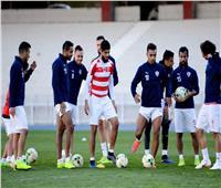 تدريبات تأهيلية للاعبي الزمالك استعدادا للمقاولون العرب
