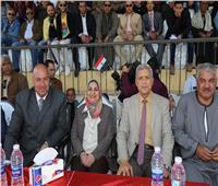 محافظ المنوفية يشهد الحفل الختامي لنهائي دوري مراكز الشباب