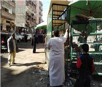 حملات لرفع وإزالة المخلفات والإشغالات في أسيوط