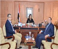 وزيرة الهجرة تستقبل المدير التنفيذي لمشروع المنطقة اللوجستية بطنطا