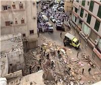 انهيار منزلين بالإسكندرية والحماية المدنية تنتشل 6 أشخاص أحياء