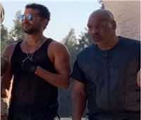 عمرو سعد مع الملاكم العالمي مايك تايسون في«حملة فرعون»