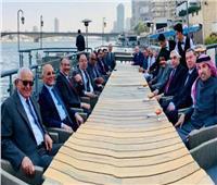 سفير البحرين بمصر يستقبل السفير العراقي الجديد