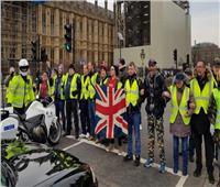 محتجو السترات الصفراء يقتحمون مكتب المدعي العام البريطاني بلندن