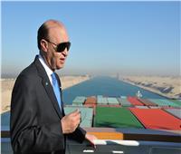 مميش: عبور 86 سفينة بقناة السويس بإجمالي حمولات 5.3 مليون طن