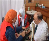 وزير التنمية المحلية يُجري المسح الطبي بمبادرة «فيروس سي»