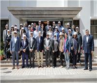 وفد «التعاون الاقتصادي» يتفقد البنية التحتية للمنطقة الاقتصادية بالإسماعيلية