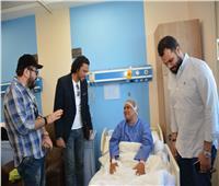 صور.. ضيوف مهرجان الأقصر للسينما يزورون مستشفى شفاء الأورمان