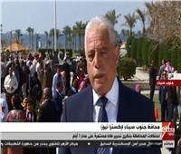 بث مباشر| احتفالات محافظة سيناء بالذكرى الـ30 لتحرير «طابا»