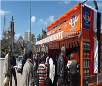 بالفيديو والصور.. إقبال على منافذ «أمان» لشراء السلع بأسعار مخفضة بالإسكندرية