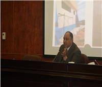 طارق فوزي يستعرض خطة تطوير المطارات المصرية