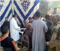 تحرير 33 محضر تمويني مخالف بمركز العدوة في المنيا