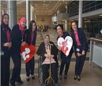 مطار القاهرة يشارك الراكبات الاحتفال بـ«عيد الأم»