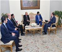 السيسى يؤكد اعتزاز مصر بالروابط الأخوية الوثيقة مع موريتانيا