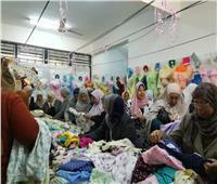 افتتاح معرض الأسر المنتجة بالجمعية النسائية في أسيوط